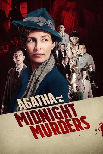 Poster Agatha and the Midnight Murders