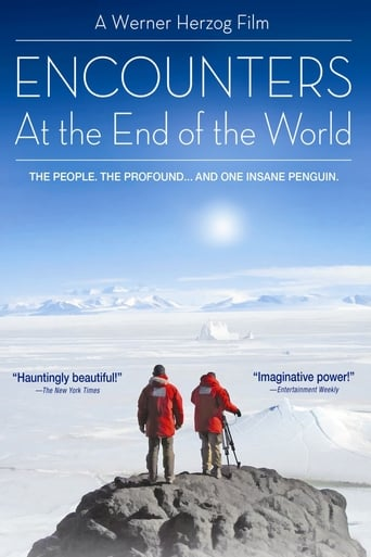 Poster of Encounters at the End of the World