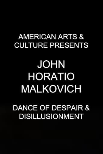 American Arts & Culture Presents John Horatio Malkovich 'Dance of Despair & Disillusionment'