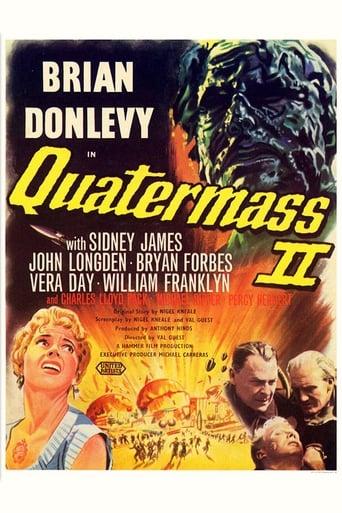 Quatermass 2 (1957) - poster