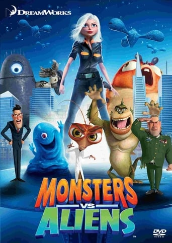 Poster of Monsters vs Aliens: Creature Features