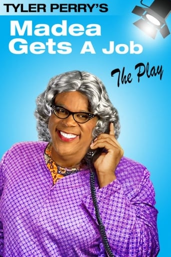 Poster of Madea Gets A Job - The Play