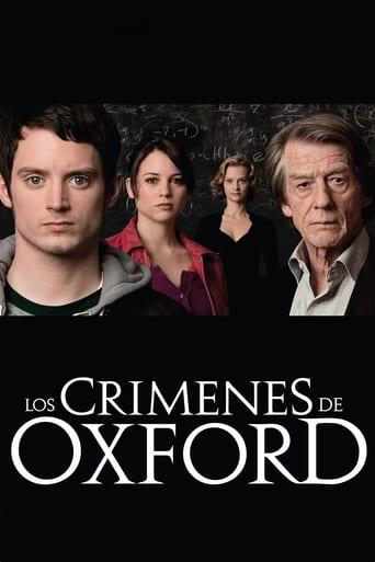 Poster of Los crímenes de Oxford