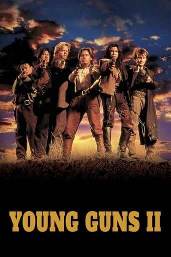 Young Guns II Poster