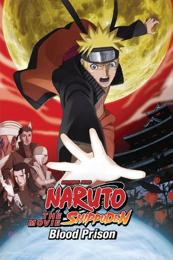 Poster of Naruto Shippuden the Movie: Blood Prison