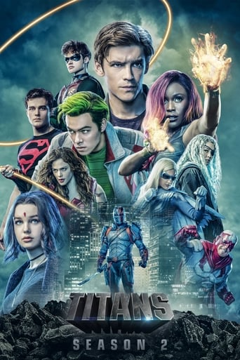 Titãs 2ª Temporada - Poster