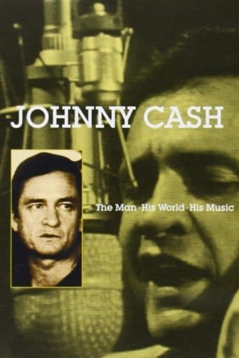 Poster of Johnny Cash: The Man, His World, His Music