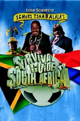 Poster of Schuks Tshabalala's Survival Guide to South Africa