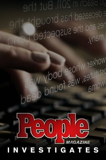 Poster of People Magazine Investigates