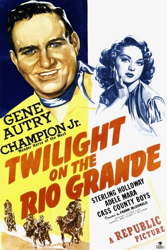 Poster of Twilight on the Rio Grande