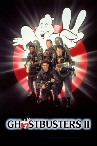 Ghostbusters II (1989) - poster
