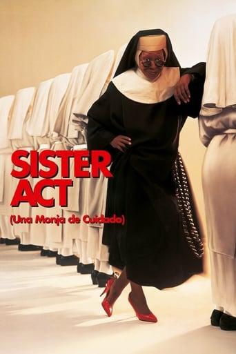 Poster of Sister Act (Una monja de cuidado)