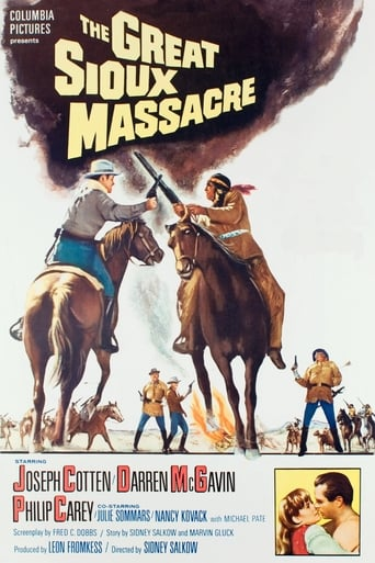 Poster of The Great Sioux Massacre