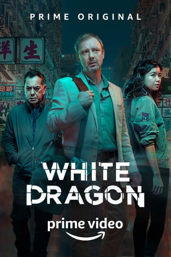 White Dragon Poster