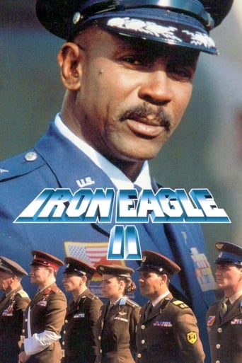 Poster of Iron Eagle II