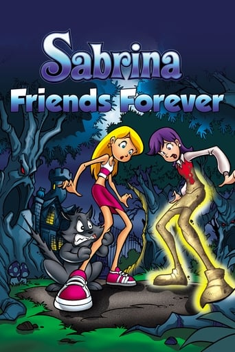 Sabrina the Teenage Witch in Friends Forever movie poster
