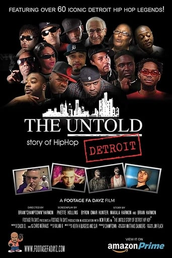 Poster of The Untold Story of Detroit Hip Hop