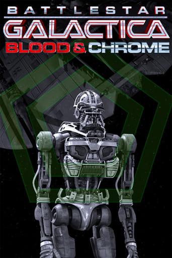 Poster of Battlestar Galactica: Blood & Chrome