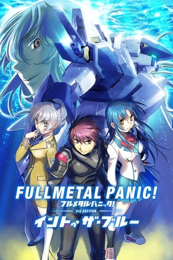 Poster of Full Metal Panic! Movie 3: Into The Blue