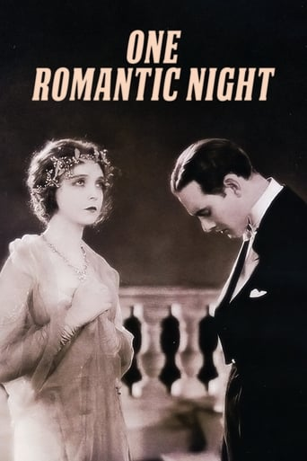 Poster of One Romantic Night