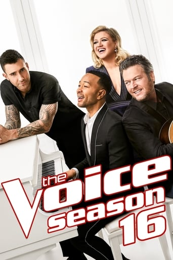 The Voice 16ª Temporada - Poster