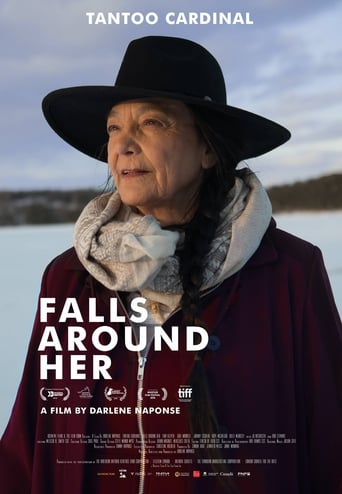 Poster of Falls Around Her