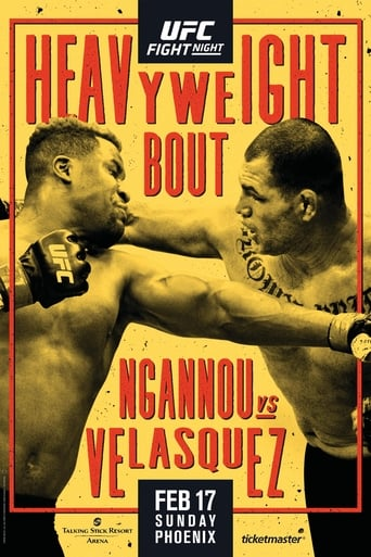 Watch UFC on ESPN 1: Ngannou vs. Velasquez Online Free Putlocker