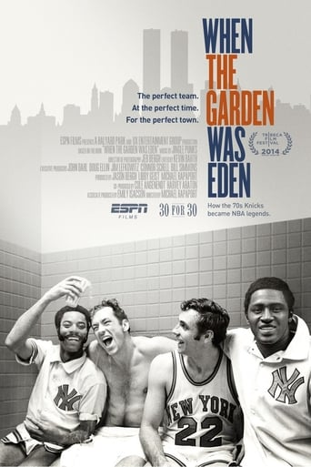 When the Garden Was Eden poster