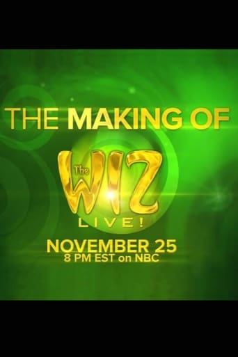 Poster of The Making of the Wiz Live!