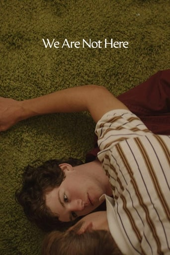 Poster of We Are Not Here