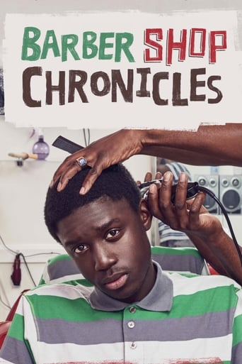Poster of National Theatre Live: Barber Shop Chronicles