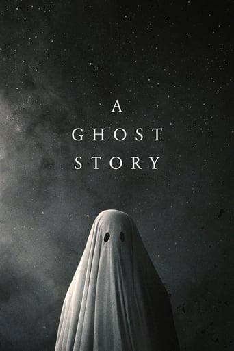 Official movie poster for A Ghost Story (2017)