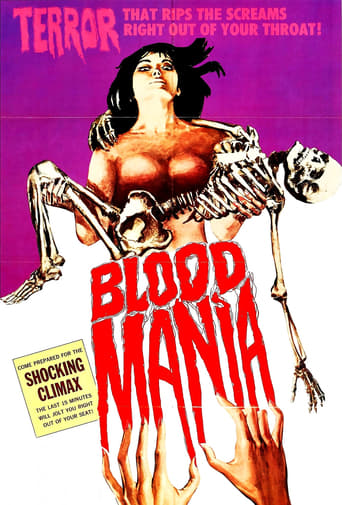 Poster of Blood Mania
