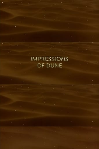 Poster of Impressions of Dune