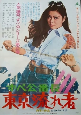 Poster of Delinquent Girl Boss: Tokyo Drifters
