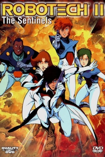 Poster of Robotech II: The Sentinels