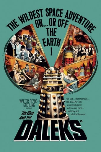Poster of Dr. Who y los Daleks