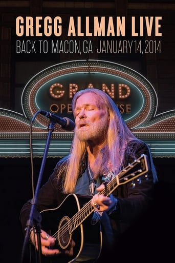 Gregg Allman Live: Back To Macon, GA Yify Movies