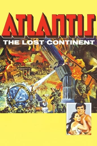 Poster of Atlantis: The Lost Continent