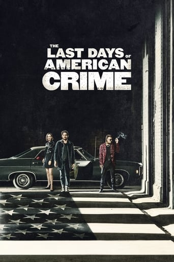 The Last Days of American Crime - Poster