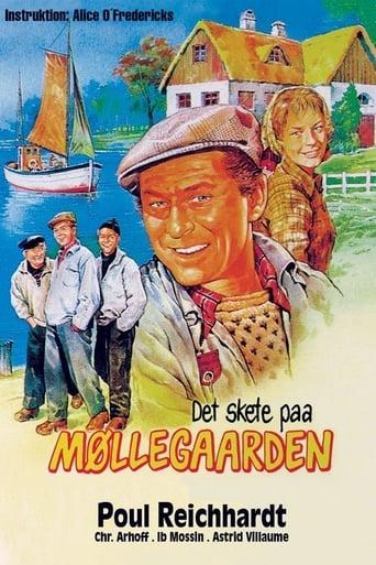 Poster of Det skete paa Møllegaarden