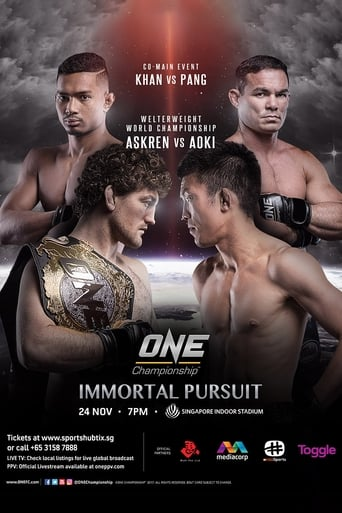 Poster of ONE Championship 62: Immortal Pursuit