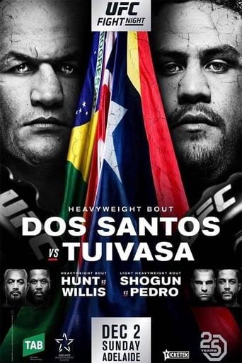 Poster of UFC Fight Night 142: dos Santos vs. Tuivasa