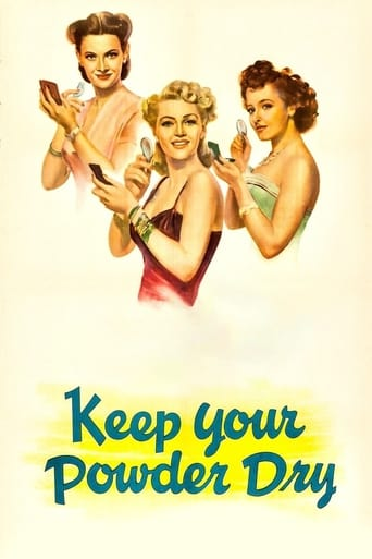 Poster of Keep Your Powder Dry