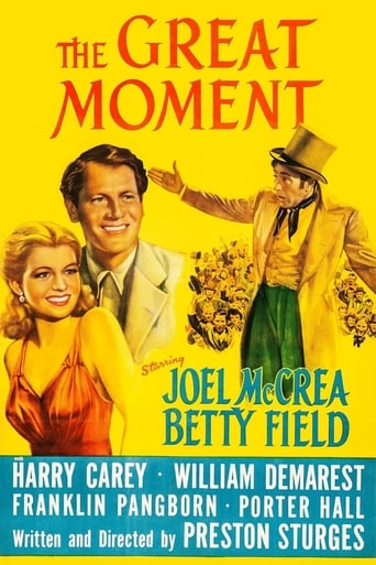 Poster of The Great Moment