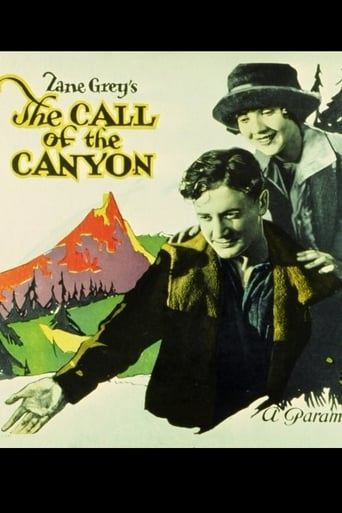 Poster of The Call of the Canyon