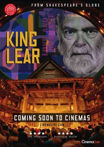 Poster of King Lear: Shakespeare's Globe Theatre