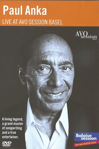Poster of Paul Anka plays Avo Session