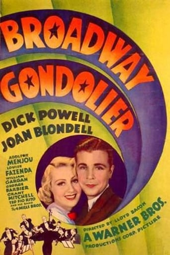 Watch Broadway Gondolier Online Free Movie Now