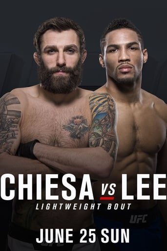 Poster of UFC Fight Night 112: Chiesa vs. Lee